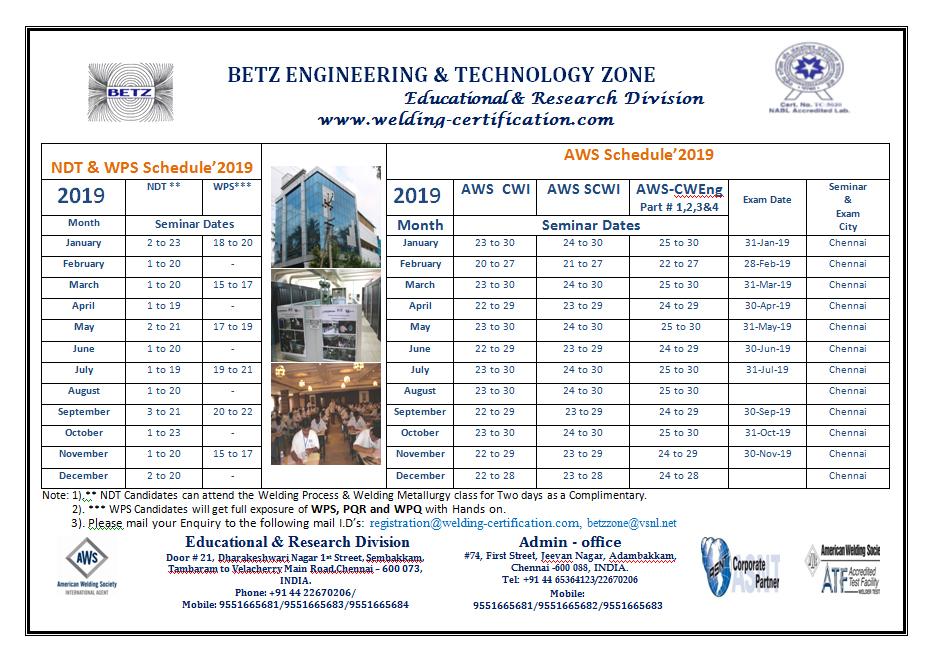 Aws Cwi Scwi Ndt Services Accp Api Chennai India